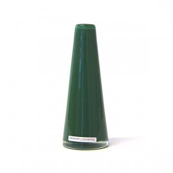 Henry Dean Vase Poppy, H 16 x Ø 6 cm, Pine