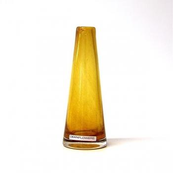 Henry Dean Vase Poppy, H 16 x Ø 6 cm, Cognac
