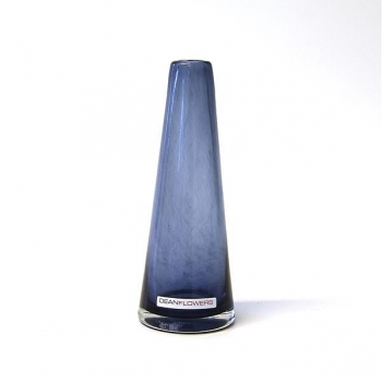 Henry Dean Vase Poppy, H 16 x Ø 6 cm, Ink