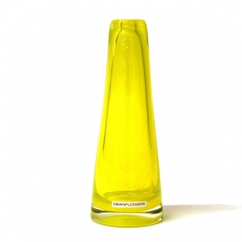 Henry Dean Vase Poppy, h 22 x Ø 7 cm, Buttercup