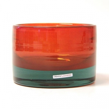 Henry Dean Vase/Windlight Charlotte, low, h 11 x Ø 16 cm, Bengali