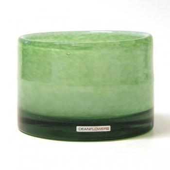Henry Dean Vase/Windlight Charlotte, low, h 11 x Ø 16 cm, Celadon