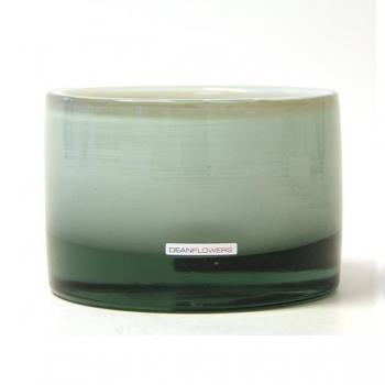 Henry Dean Vase/Windlight Charlotte, low, h 11 x Ø 16 cm, Creme
