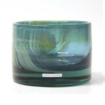 Henry Dean Vase/Windlight Charlotte, low, h 11 x Ø 16 cm, Monatana