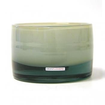 Henry Dean Vase/Windlight Charlotte, low, h 11 x Ø 16 cm, Caramel