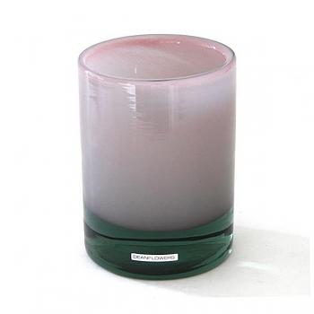 Henry Dean Vase/Windlight Charlotte, high, h 17 x Ø 13 cm, Pink
