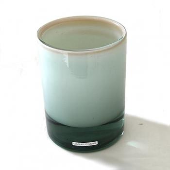 Henry Dean Vase/Windlight Charlotte, high, h 17 x Ø 13 cm, Creme