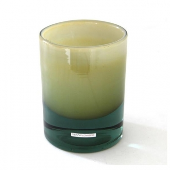 Henry Dean Vase/Windlight Charlotte, high, h 17 x Ø 13 cm, Caramel