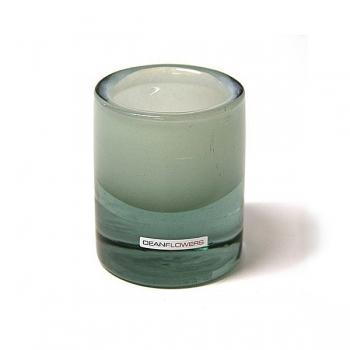 Henry Dean Vase/Windlight Charlotte, small, h 10 x Ø 8 cm, Reseda