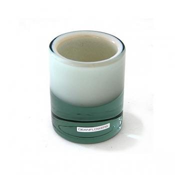 Henry Dean Vase/Windlight Charlotte, small, h 10 x Ø 8 cm, Creme