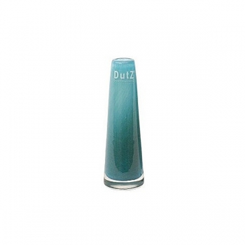 DutZ®-Collection Vase Solifleur, konisch, H 15 x Ø 5 cm, Blau Petrol