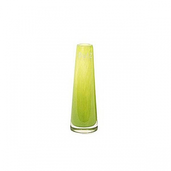 DutZ®-Collection Vase Solifleur, konisch, H 15 x Ø 5 cm, Lime