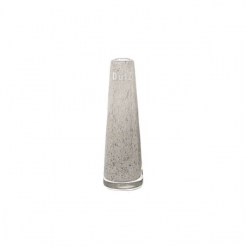 DutZ®-Collection Vase Solifleur, konisch, H 15 x Ø 5 cm, Mittelgrau