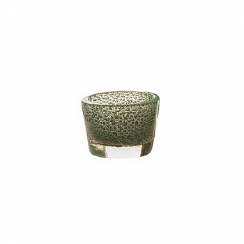 DutZ®-Collection Vase Conic with bubbles, h 10  x  Ø.13 cm, jade