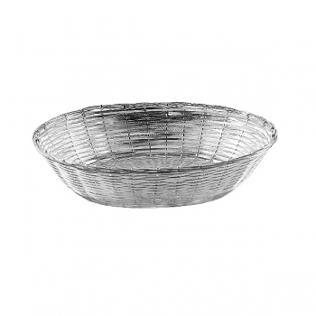 Edzard Basket Basket, shiny silver plated non tarnishing, l 23 x w 16 x h 6 cm