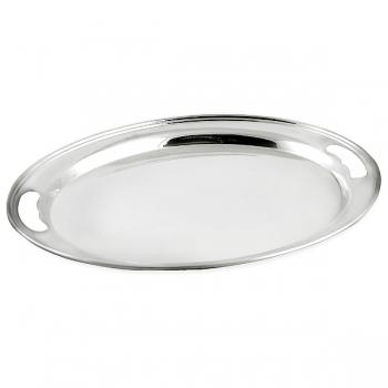 Edzard Tray Olivia, shiny QualiPlated® with silver, l 40 x w 29 cm