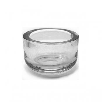 Henry Dean Bowl Gabon S Extra Thick, h 9.5 x Ø 15 cm, Clear