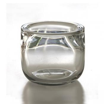Henry Dean Bowl Gabon L Extra Thick, h 22 x Ø 20 cm, Clear