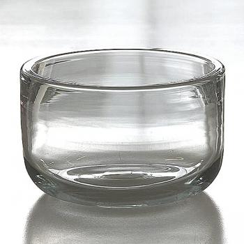 Henry Dean Bowl Gabon XL Extra Thick, h 22 x Ø 34 cm, Clear