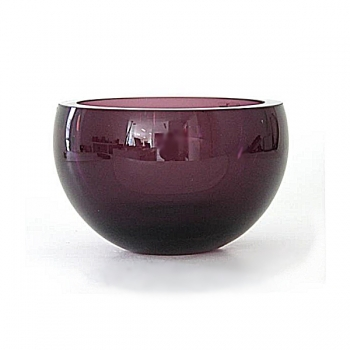 Henry Dean Bowl Margaux M Extra Thick, h 20 x Ø 23 cm, Amethist