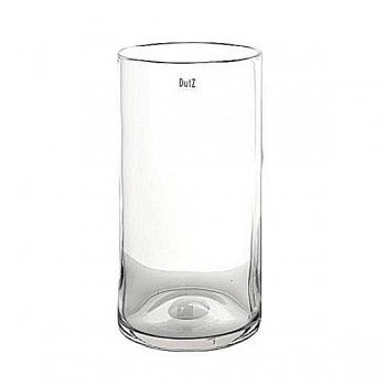 Collection DutZ® vase Cylinder, h 50 x Ø 22 cm, transparent
