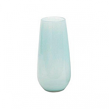 Collection DutZ® Vase Robert, h 37 x Ø 11 cm, bleu clair