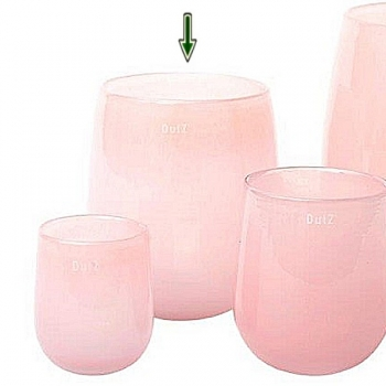 Collection DutZ® Vase Barrique, h 24 x Ø 18 cm, rose