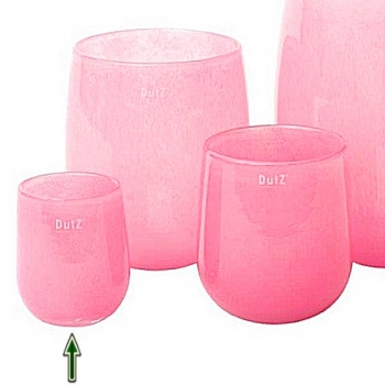 DutZ®-Collection Vase Barrel, h 13 x Ø 10 cm, fuchsia