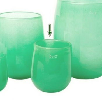 DutZ®-Collection Vase Barrel, h 18 x Ø 14 cm, jade
