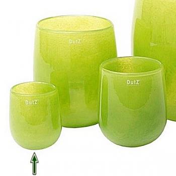 Collection DutZ® Vase Barrique, h 13 x Ø 10 cm, lime