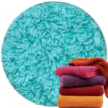 Abyss & Habidecor Super Pile Terry Cloth Guest Towel/Washcloth, 30 x 30 cm, 100% Egyptian Giza 70 Cotton, 700g/m², 370 Turqoise