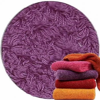 Abyss & Habidecor Super Pile Terry Cloth Guest Towel/Washcloth, 30 x 30 cm, 100% Egyptian Giza 70 Cotton, 700g/m², 402 Dahlia