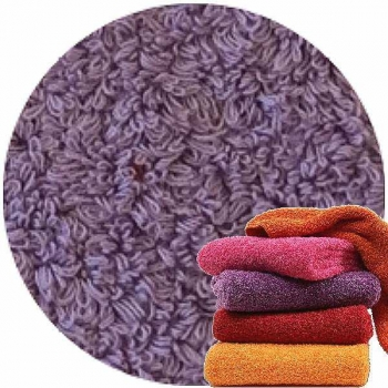 Abyss & Habidecor Super Pile Terry Cloth Guest Towel/Washcloth, 30 x 30 cm, 100% Egyptian Giza 70 Cotton, 700g/m², 440 Orchid