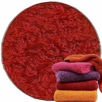 Abyss & Habidecor Super Pile Terry Cloth Guest Towel/Washcloth, 30 x 30 cm, 100% Egyptian Giza 70 Cotton, 700g/m², 502 Hibiscus