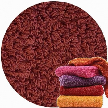 Abyss & Habidecor Super Pile Terry Cloth Guest Towel/Washcloth, 30 x 30 cm, 100% Egyptian Giza 70 Cotton, 700g/m², 670 Tandori