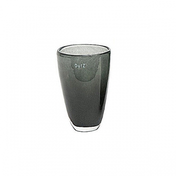 Collection DutZ® Vase, h 21 cm x Ø 13 cm, cendreuse