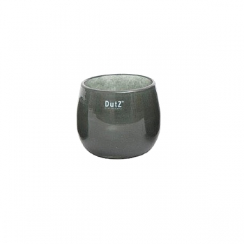 Collection DutZ® vase/récipient Pot, h 11 x Ø 13 cm, cendreuse