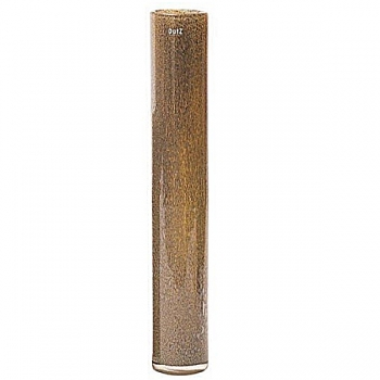 DutZ®-Collection Vase Cylinder, h 70 x Ø 10 cm, silver/brown with bubbles