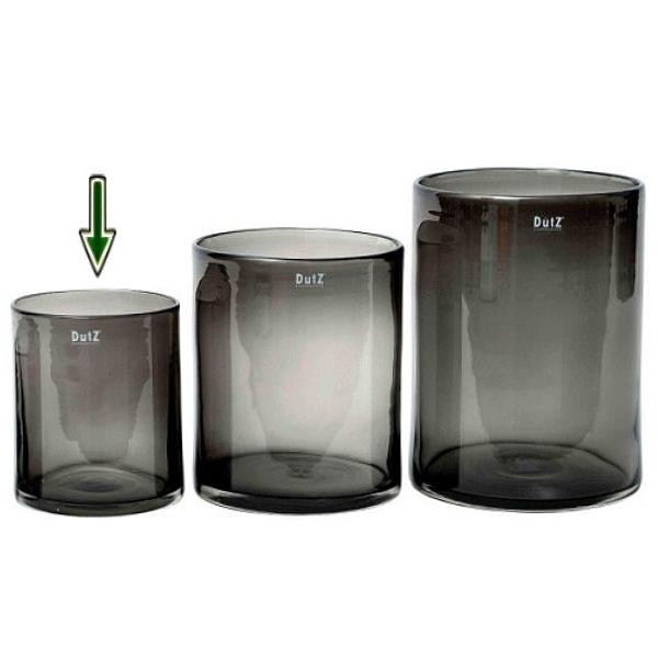 DutZ®-Collection Vase Cylinder, h 19 x Ø 15 cm, smoke
