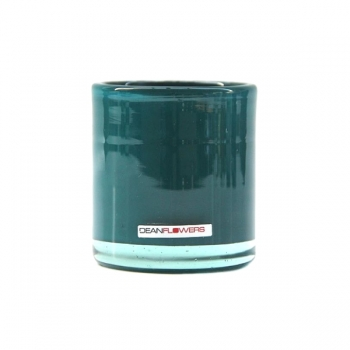 Henry Dean photophore Votive Mary L, h 9,5 x Ø 8,5 cm, Teal