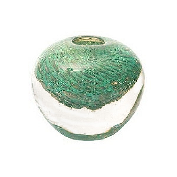 DutZ®-Collection Vase Bubble Ball, H 13,5 x Ø 13,5 cm, Jade