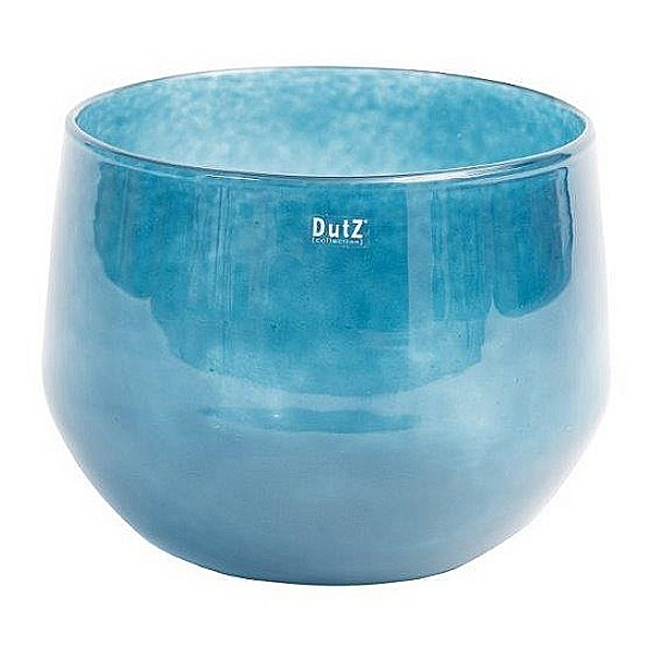DutZ®-Collection Glasschale, H 24 x Ø 32 cm, Navy Blau