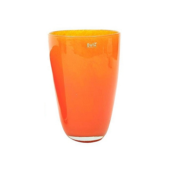 DutZ®-Collection Blumenvase, H 32 x Ø 21 cm, Orange
