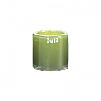 Collection DutZ ® photophore Votive, h 7 x Ø 7 cm, Colori: vert