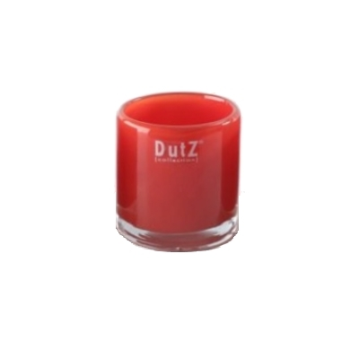 DutZ®-Collection Windlight Votive, h 7 x Ø 7 cm, red