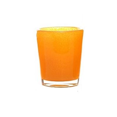 DutZ®-Collection Vase Conic, H 17  x  Ø.15 cm, orange