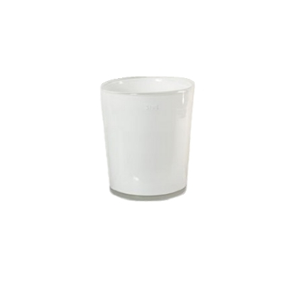 Collection DutZ ®  vase Conic, h 14 x Ø 12 cm, Colori: blanc