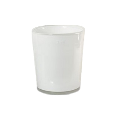 Collection DutZ ®  vase Conic, h 23 x Ø 20 cm, Colori: blanc