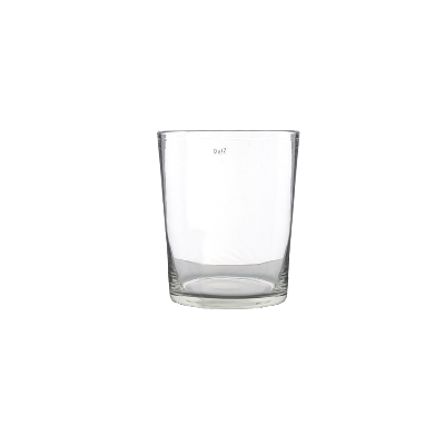 Collection DutZ ®  vase Conic, h 14 x Ø 12 cm, Colori: transparent