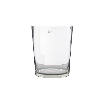 Collection DutZ ®  vase Conic, h 17 x Ø 15 cm, Colori: transparent